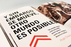 Y SIN EMBARGO SE MUEVE | Dossier by Reyes Mora, via Behance