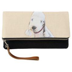 #personalize - #Bedlington Terrier Clutch