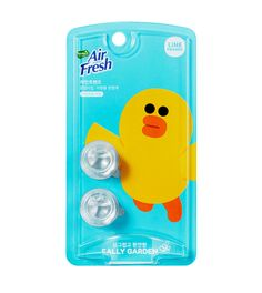 Line Friends Characters Car Vent Clip Air Freshener Garden Scent Sally Refill #Homez