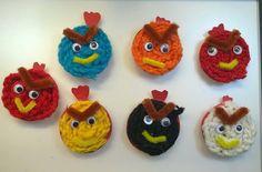Textiles, Angry Birds, Elsa, Crochet Earrings, Diy, School, Barn, Decorations, Weaving