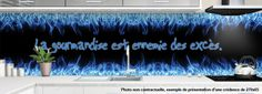 Crédence FLAMME GAZ - design-credence-deco.fr