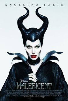 Thanks to Angelina Jolie, the notorious Maleficent has a killer look. Disney princesses sometimes inspire glamorous fashion, but now thanks to Angelina Jolie, the villainous Maleficent is a style muse. Watch Maleficent, Maleficent 2014, Maleficent Makeup, Maleficent Horns, Maleficent Costume, Maleficent Quotes, Maleficent Halloween, Disney Films, Movie Posters