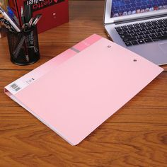Fashion Umi Document File Long Clip & Plate Clip Type Folder For A4 Paper Zd