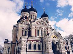 Die wundervolle Alexander Nebsky Kathedrale in #Tallinn #tallinna #tallinngram #visitestonia #visittallinn #latergram #diewocheaufinstagram #igdaily #vscocam #vscodaily #vscophile #travel #travelgram