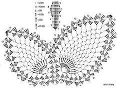 ganchillo y tricot...anamary: mariposa crochet