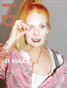 i-D Magazine Spring 2012 Nine Covers (March 2012): Vivienne Westwood by Juergen Teller.