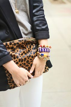 Clare Vivier Clutch  ~ just can't keep up with Clare!!