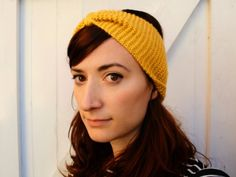 The perfect beginner #knitting project: Its A Cinch Turban by Wendy