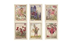 Top five Chelsea Flower Show floral fancies featuring King & McGaw's Flower Fairies prints, via The Guardian