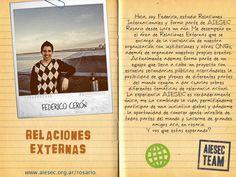 Fede es el actual LCP de AIESEC Rosario