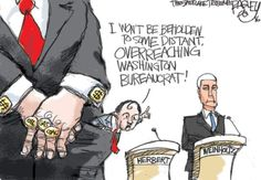 This Pat Bagley cartoon appears in The Salt Lake Tribune on Sunday, Sept. 18…