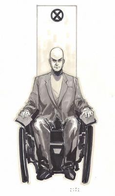 Professor X - Charles Xavier - X-Men Comic Book Characters, Comic Character, Character Design, Comic Books, Marvel And Dc Superheroes, Marvel Heroes, Marvel Comics, Charles Xavier, Francis Xavier
