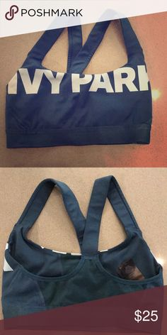 Ivy Park sports bra New and never worn! Size Small. Really cute and comfortable sports bra that works for everything - gym or lounging around. The material is really soft and the color is gorgeous. Ivy Park Intimates & Sleepwear Bras