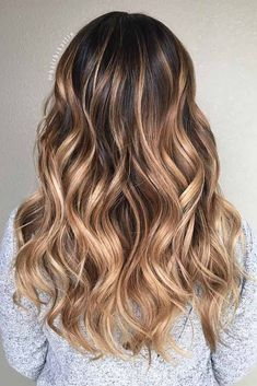 Luscious Balayage With Subtle Purple Tones - 20 Stunning Examples of Mushroom Brown Hair Color - The Trending Hairstyle Brown Blonde Hair, Brown Hair With Highlights, Hair Color Highlights, Light Brown Hair, Light Hair, Brown Hair Colors, Dark Hair, Blonde Streaks, Natural Highlights