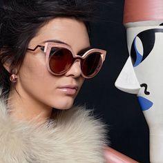 Oculos Tendencia 2017, Oculos Fendi, Óculos Gatinho, Oculos De Sol, Modelos  De 1784e61a58