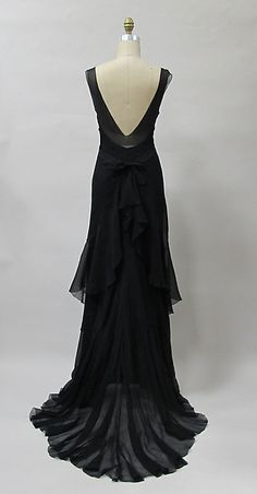 Evening dress (image 5) | Charles James | American | 1930s | synthetic | Metropolitan Museum of Art | Accession Number: 2013.419a, b