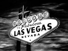 las vegas black and white - Google Search