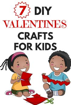 Students will love these fun DIY Valentine's Day crafts for kids to do at school or as gifts for friends or parents.