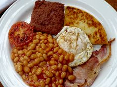 Scottish breakfast :') (sans black pudding)