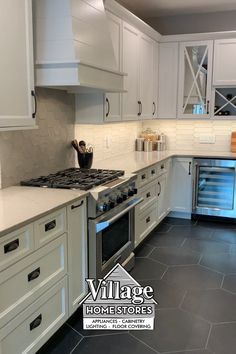 Kitchen Cabinet Inspiration, Kitchen Cabinet Styles, Kitchen Cabinet Remodel, White Kitchen Cabinets, Dark Cabinets, Soffits In Kitchen, Kitchens With Painted Cabinets, Kitchen With Black Appliances, Redoing Kitchen Cabinets