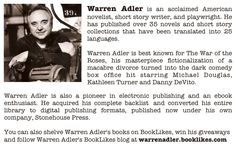 Guest Post by Warren Adler: The Title Dilemma