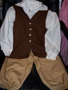 boys civil ware outfit patterns | BOYS Historical clothing / Colonial, Pioneer, Civil War,Knights,Cowboy ...