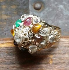 Thai princess ring purchased by my father during the Vietnam War for my mother.