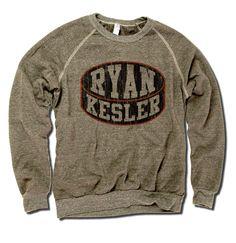 Ryan Kesler NHLPA Officially Licensed Anaheim Crew Sweatshirt S-2XL Ryan Kesler Puck K
