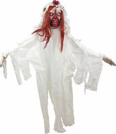 #Trendy Halloween - #Forum Novelties Zipper Face Bride Hanging Prop 6ft - AdoreWe.com