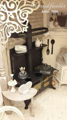 Mondodifavola: AMANDA, MY DOLLHOUSE - The kitchen