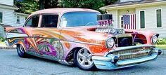 Wild & Crazy blown 57 Chevy