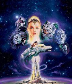 The NeverEnding Story (1984) aka Die unendliche Geschichte (original title)  movie key art designed by Renato Casaro (US)