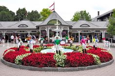 Saratoga Race Track, NY  One of the most beautiful Victorian style tracks