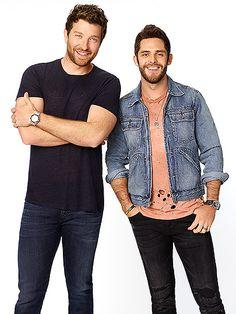 Brett Eldredge and Thomas Rhett Buddy Up to Host ABC's CMA Music Festival Special| CMA Music Festival, Country, Music News, Brett Eldredge, Thomas Rhett