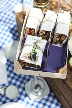 Emballez vos sandwiches dans de jolies feuilles de papier #picnic