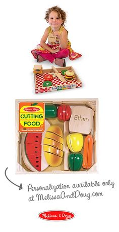 Personalized play food