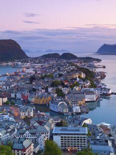 Alesund, Sunnmore, More Og Romsdal, Norway
