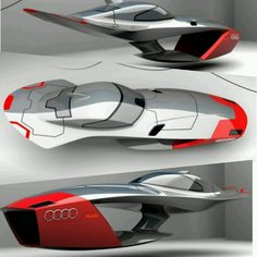 Audi Calamaro: flying car concept