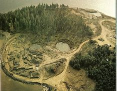 Oak Island - there is said to be a curse of the island as many explores try to find the hidden treasure. No one to this day has found it, but something does lie beneath the earth on this infamous island. Would be neat to travel here someday.