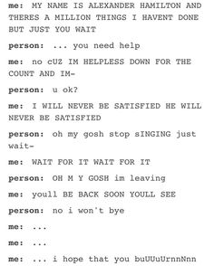 This is literally the story of my life