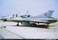 "On static display at ""Giornata Azzurra at Ghedi AFB, now retired and scrapped. - Photo taken at Ghedi (- Tenente Luigi Olivari) (LIPL) in Italy in June, Military Jets, Military Aircraft, Saab 35 Draken, Swedish Air Force, Airplane Design, Aircraft Pictures, Aeroplanes, Austria, Fighter Jets"