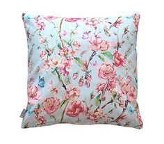 Handmade Throw Pillow, Pink, Decor, Pink Floral, Throw Pillow Cases, Decorative Cushion Covers, Sofa Bed Decor, Pillows, Throw Pillows