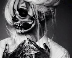 Skull Halloween makeup!!