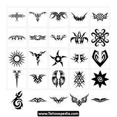 Tribal+flower+butterfly+tattoo+style+vector+1534763+-+by