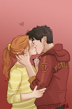 Harry and Ginny by emmilinne