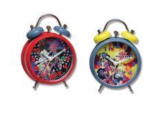 Mini orologio da tavola con sveglia con suono elettronico in due versioni con immagini di bakugan VENDITA AL PEZZO 2 VARIANTI
