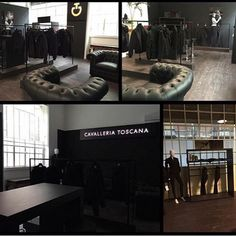 Show room Milan For cavalleria toscana by Eventdesign