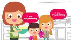 I Love My Mommy | Mother's Day Song for Kids | Happy Mothers Day Song | ...