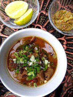 Coto Makassar a la Mitzui | Just Try & Taste