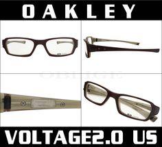 史上最も激安い OAKLEY オークリー RX メガネフレーム VOLTAGE2.0:ボルテージ USフィット(LIGHT BROWN) OAKLEY レンズ加工/代引不可